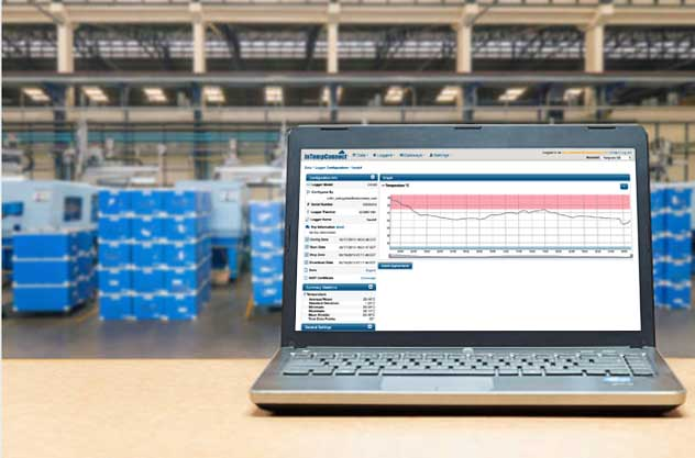 image of cloud reporting for cold chain that are flexible and secure